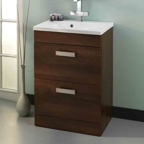 Oslo 580 Dark Walnut & Status Basin