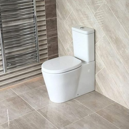 Turin Pan, Dual Button Flush Cistern & Seat