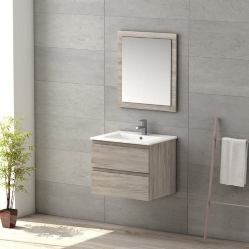 Vienna 600 wall unit sink