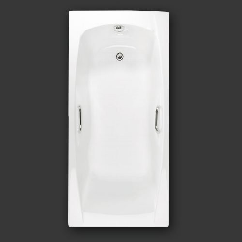 Imperial 1800 x 800 Single Ended Bath with grips