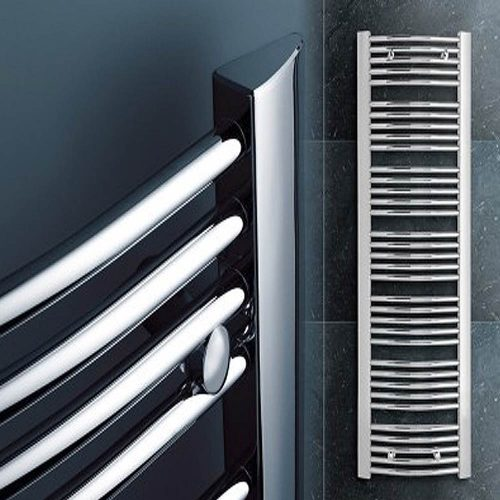 1200x500 chrome towel rail