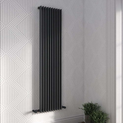 Arezzo Single Anthracite Radiator