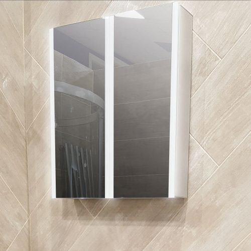 CASSIO 800 X 700 X 130 LED 2 DOOR MIRROR C