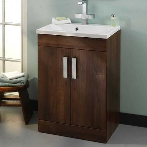 OSLO 58CM UNIT DARK WALNUT