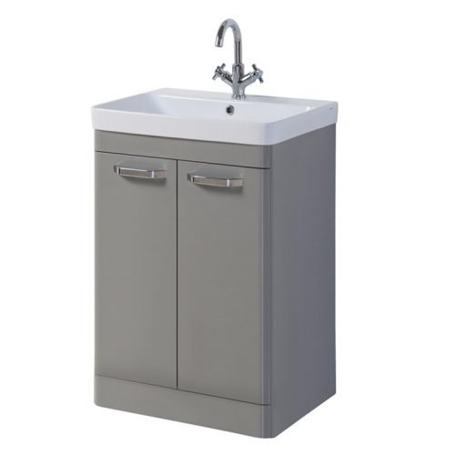 Dante 500mm 2 Door Floor Unit Grey