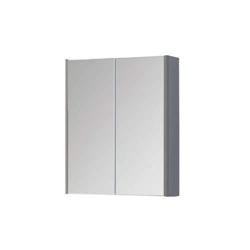 Dante 500mm Mirror Cabinet Grey