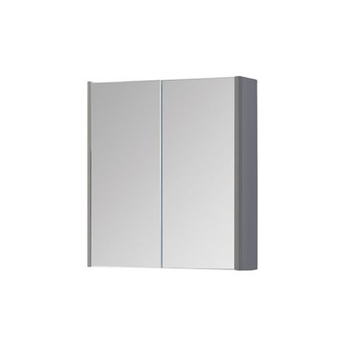 Dante 600mm Mirror Cabinet Grey