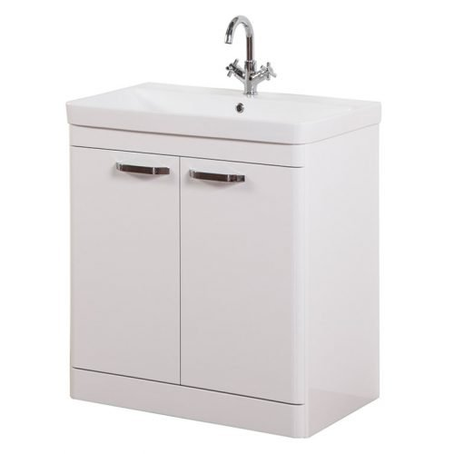 Dante 800mm 2 Door Floor Unit White