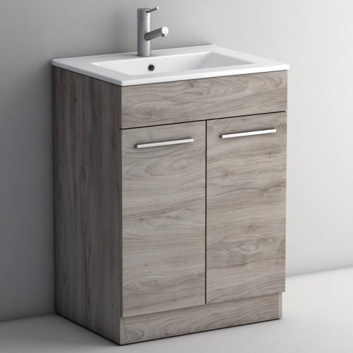 LIMA GREY ASH 600 FLOOR UNIT/BASIN