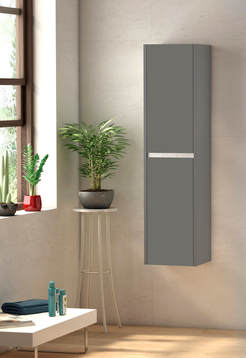 Sky Wall Tall Boy - Matte Grey