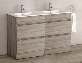 VIENA GREY ASH 1200 FLOOR UNIT/BASIN