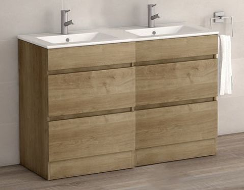 VIENA OAK 1200 FLOOR UNIT/BASIN