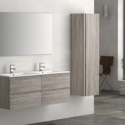 VIENA GREY ASH 1200 WALL HUNG UB