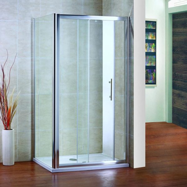 Sliding Door with side panel